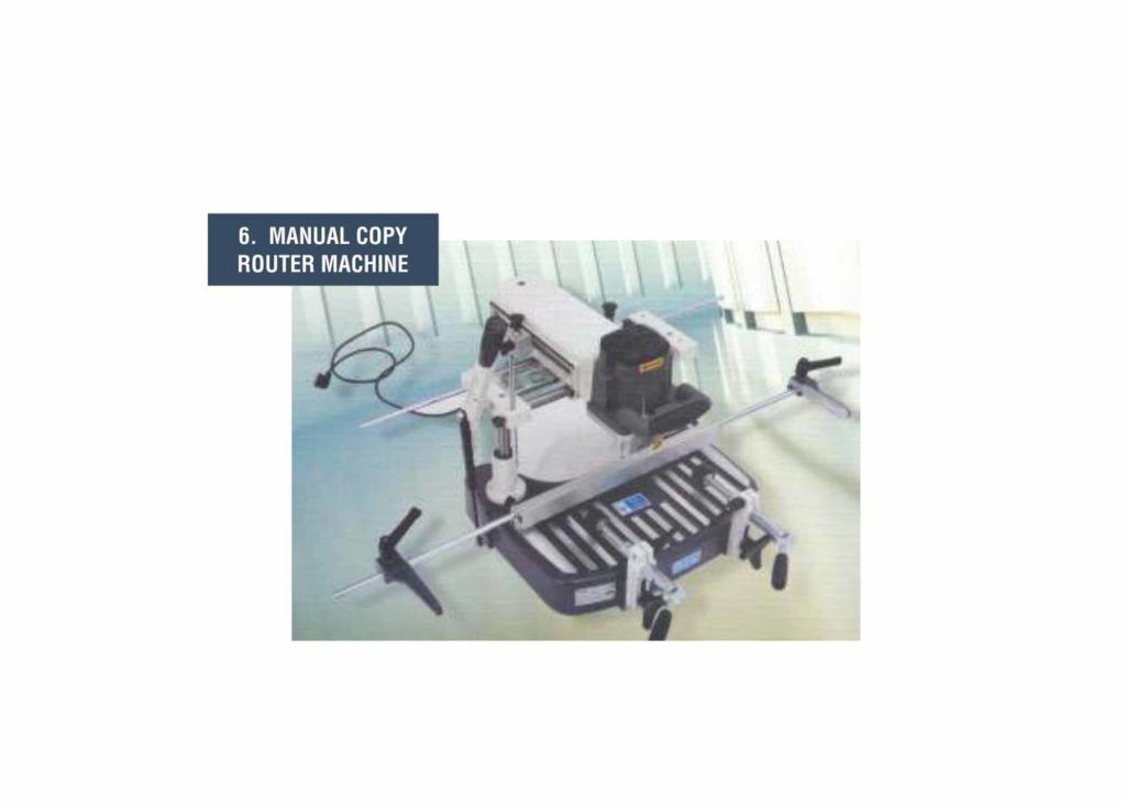 Manual Copy Router Machine