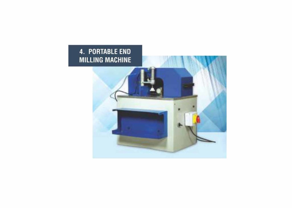 Portable End Milling Machine