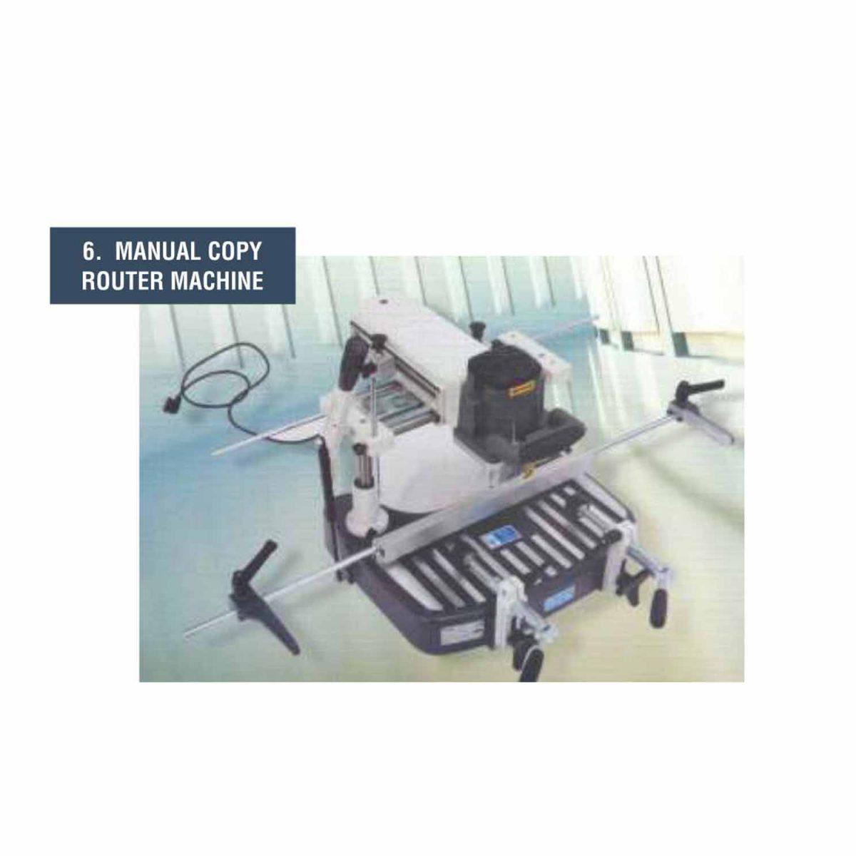 Manual Copy Router Machine